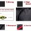 กระเป๋ากล้อง Tigernu รุ่น T-C6003 แบบสะพายหลัง, กันน้ำ, กันรอยขีดข่วน(3สีภายใน,แดง/เขียว/ส้ม) thumbnail 7