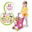 ตระกร้าช๊อปปิ้งใหม่ Home shopping Cart สีชมพู อุปกรณ์ 27 ชิ้น ส่งฟรี thumbnail 1