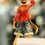 Luffy ของแท้ JP แมวทอง - Grandline Men Banpresto DX [โมเดลวันพีช] (Rare) thumbnail 4