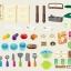 ครัวสีพาสเทล Pastel kitchen set น้ำไหลได้จริง ส่งฟรีพัสดุไปรษณีย์ thumbnail 9