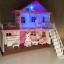 บ้านกระต่าย Anbeiya house รุ่น 2 ชั้น สีชมพูหวานแหวว ส่งฟรี thumbnail 2