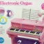 ชุดเปียโนพร้อมไมค์ ชาร์ทไฟบ้านได้ Electronic Organ ส่งฟรีพัสดุไปรษณีย์(PB) ***สีฟ้าเท่านั้น*** thumbnail 3