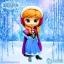 Anna ของแท้ JP - Q Posket Disney - Normal Color [โมเดล Disney] thumbnail 11