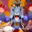 Franky Halloween ของแท้ JP แมวทอง - WCF Mega Banpresto [โมเดลวันพีช] thumbnail 3