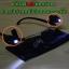 คลิปไฟ LED ติดแว่นตา สำหรับอ่านหนังสือตอนกลางคืน - Clip-On LED Reading Light for Glasses thumbnail 1