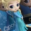 Elsa ของแท้ JP - Q Posket Disney - Normal Color [โมเดล Disney] thumbnail 1