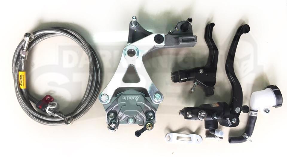 Honda Grom Handbrake setup version 1