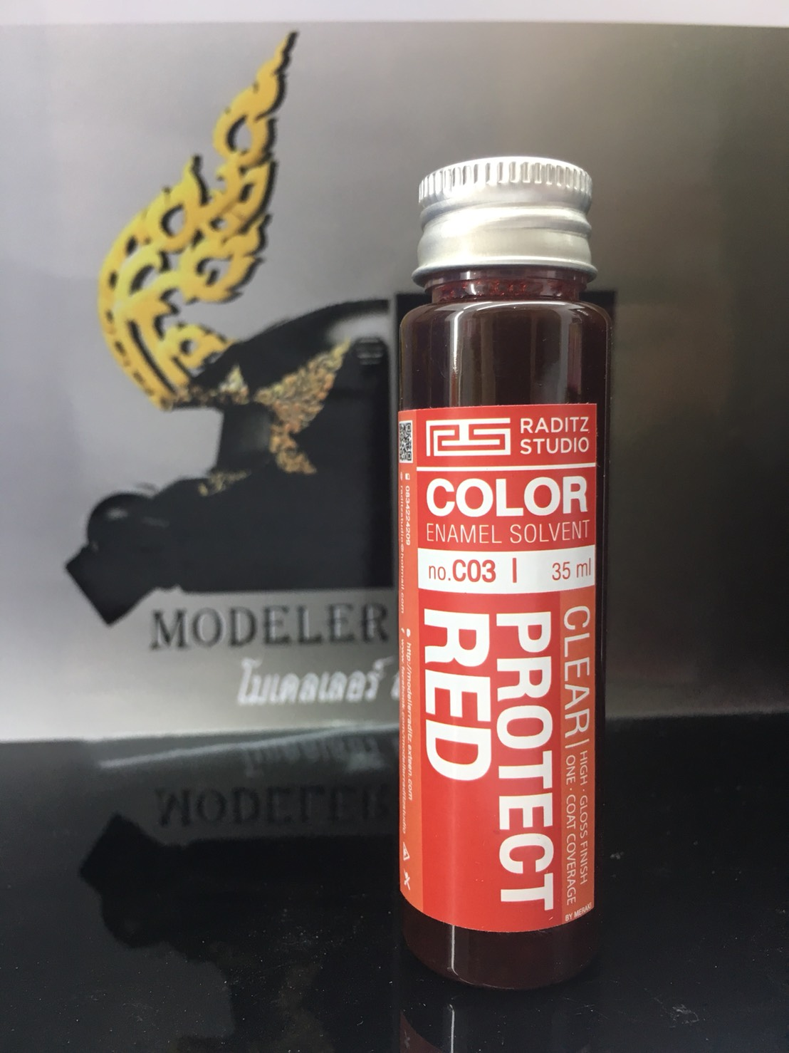 C03 Clear Protect Red 35ml