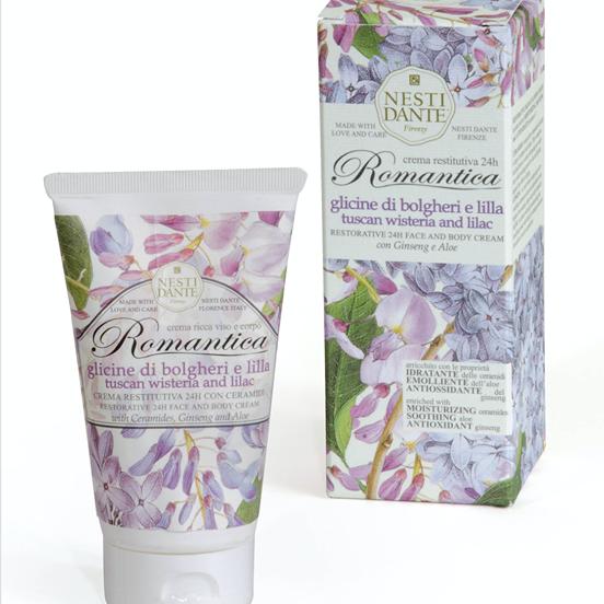 Nesti Dante Face & Body Cream - Tuscan Wisteria