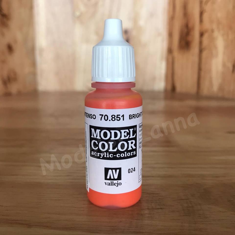 MODEL COLOR BRIGHT ORANGE 024