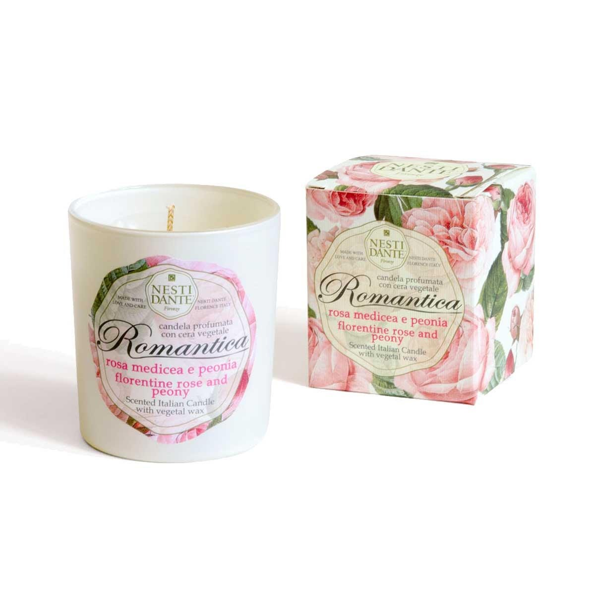 Nestl Dante Candle - Rose and Peony