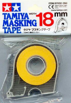 เทปบังพ่น TAMIYA MASKING TAPE 18mm.