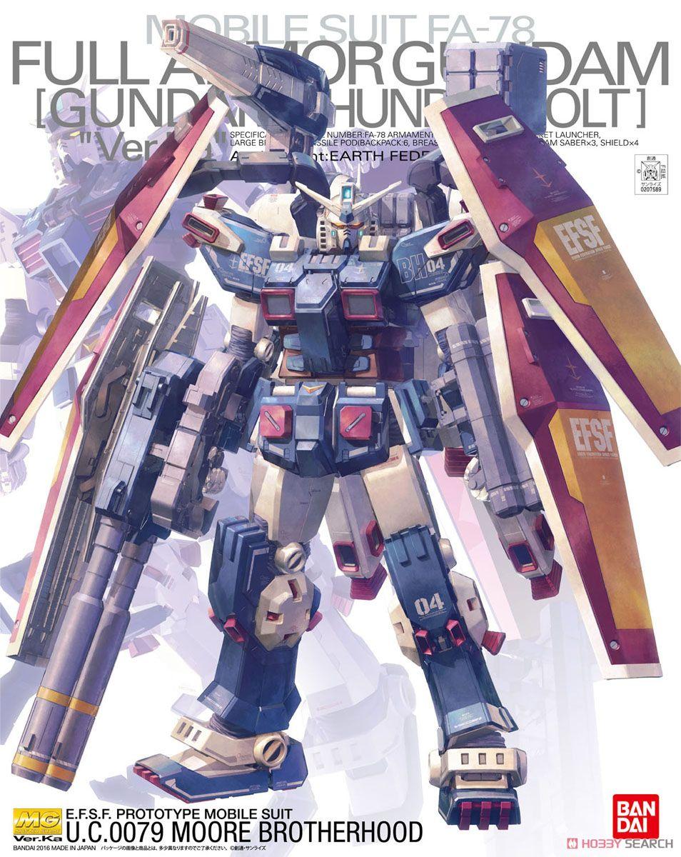 MG 1/100 FA-78 Full Armor Gundam Ver.Ka