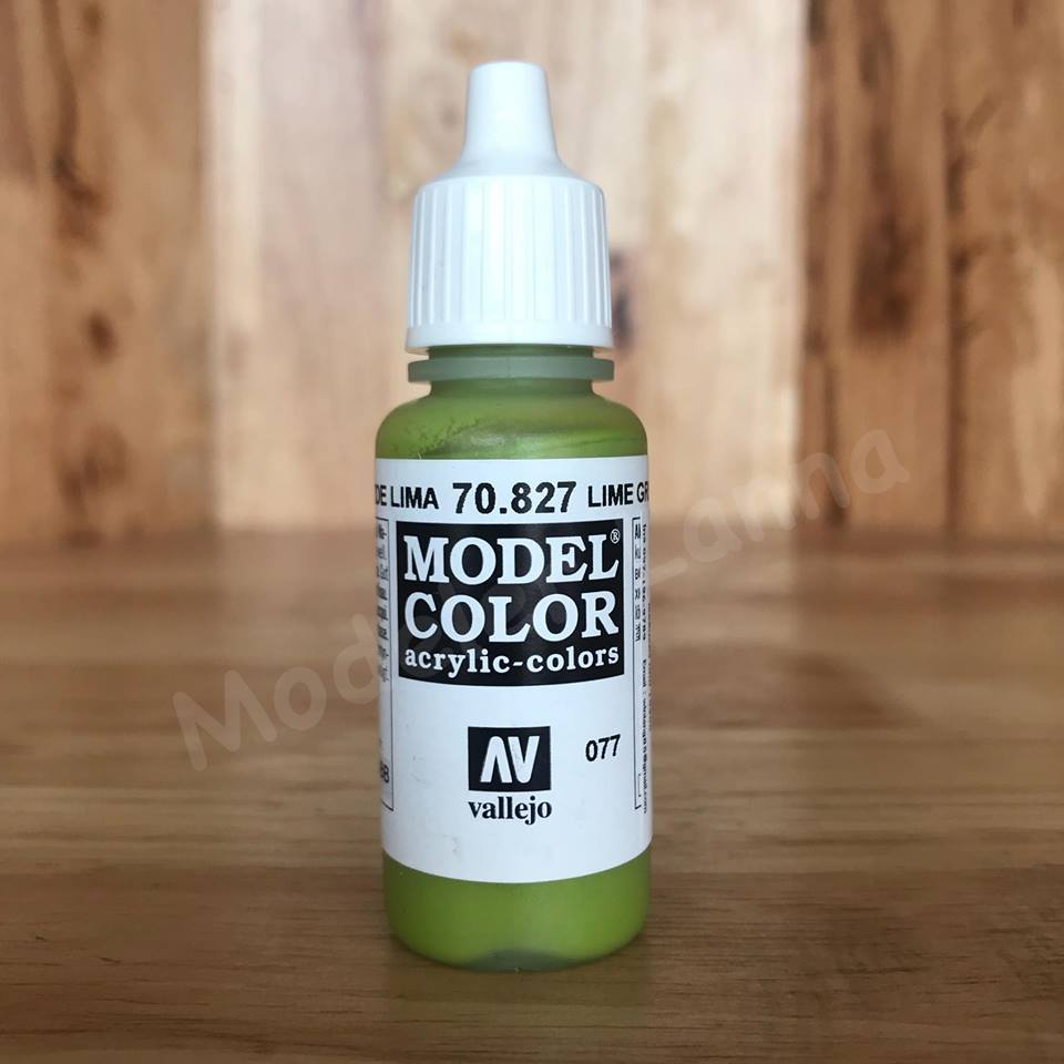 MODEL COLOR LIME GREEN 077