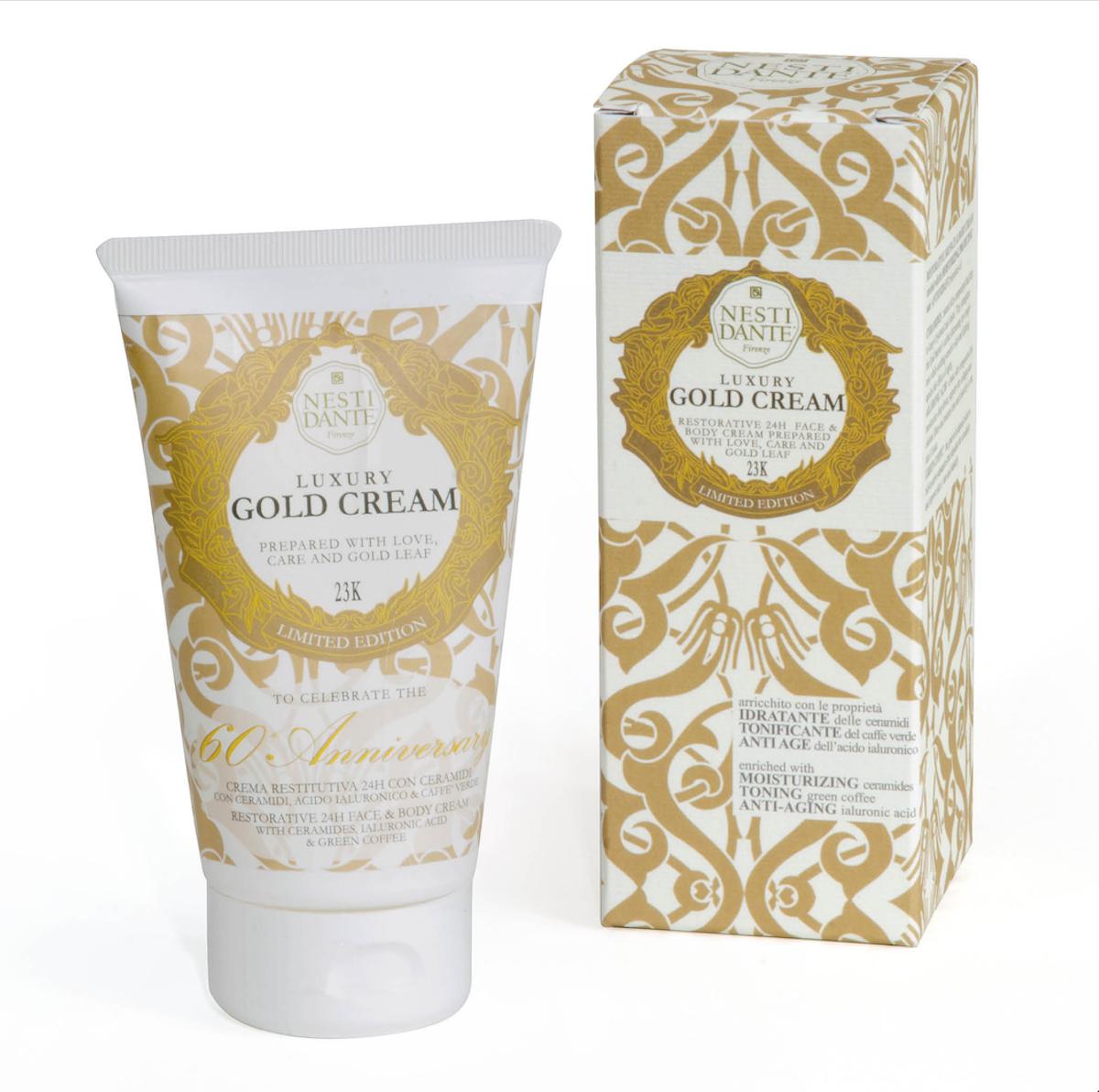 Nesti Dante Face & Body Cream - Luxury Gold