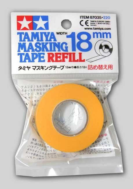 TAMIYA MASKING TAPE 18mm.