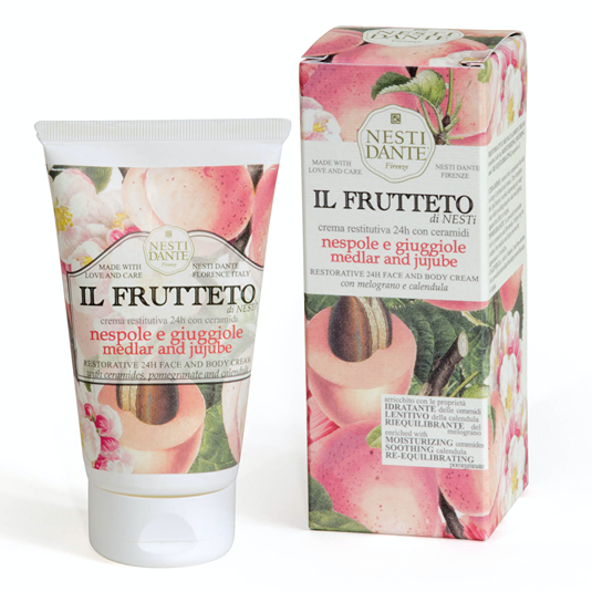 Nesti Dante Face & Body Cream - Medlar & Jujube