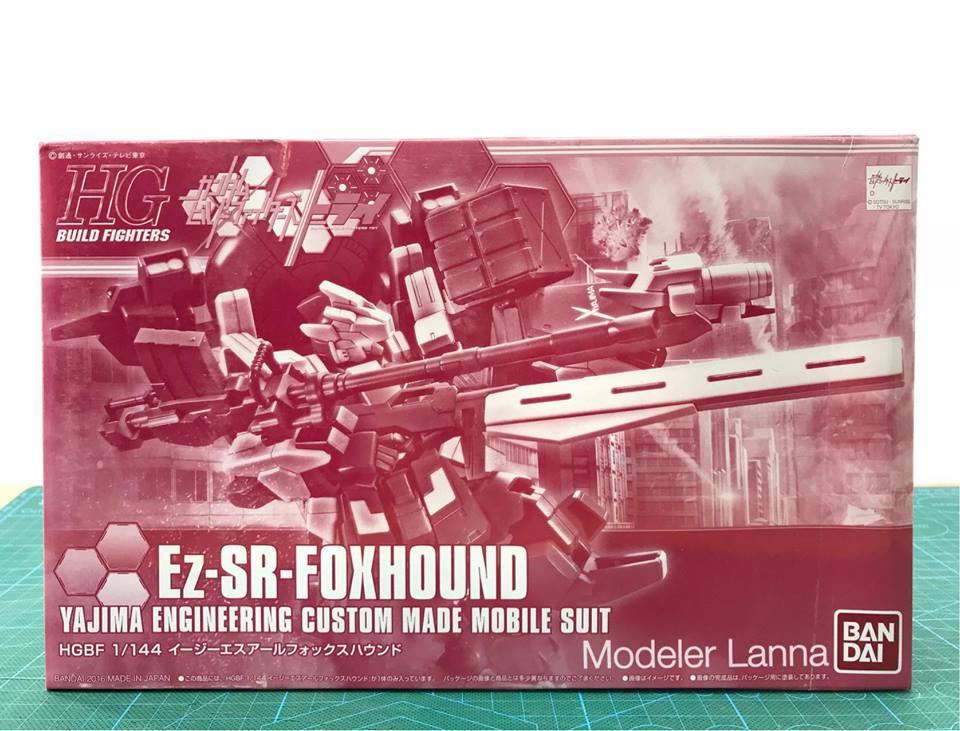 P-BANDAI HG 1/144 Ez-SR-FOXHOUND