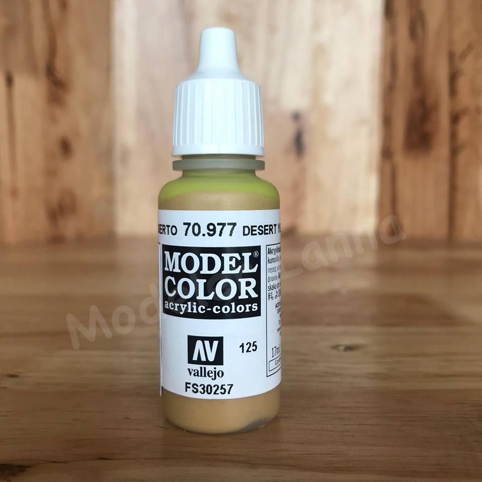 MODEL COLOR DESERT YELLOW 125