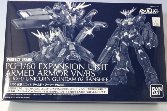 PG Expansion Unit Armed Armor VN BS For Rx 0 Unicorn Gundam