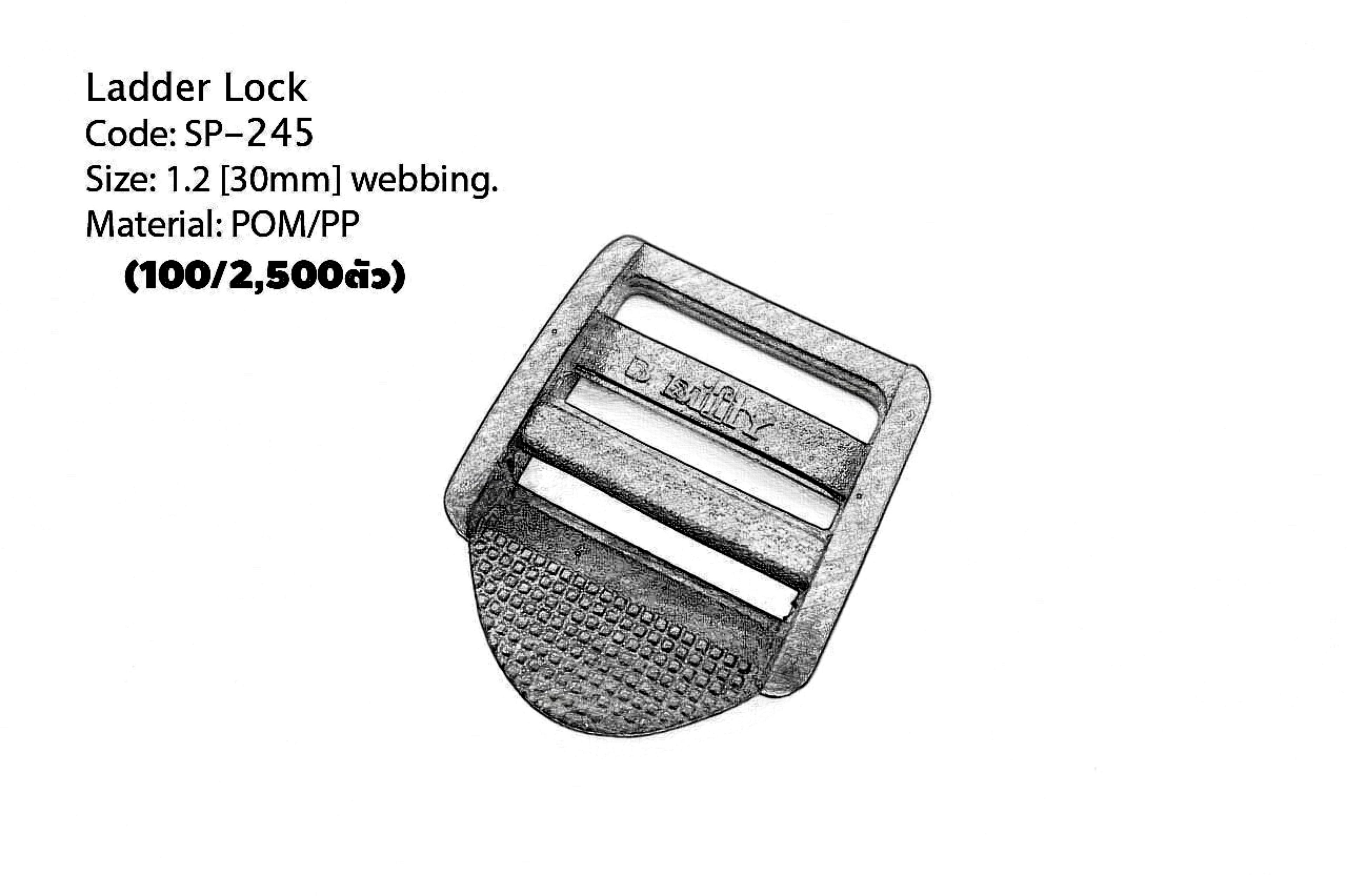 "Ladder Lock 1.2"" PP"