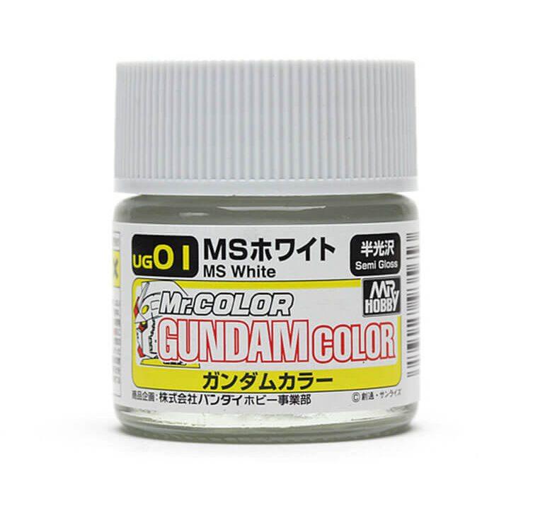 ๊UG-01 Gundam Color MS White