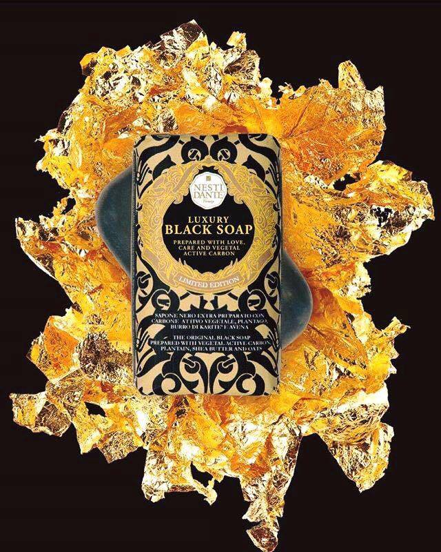 Nesti Dante Luxury Black Gold Soap (250g)