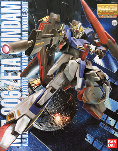 MSZ-006 Zeta Gundam (MG) (Gundam Model Kits)