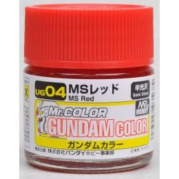 UG-04 Gundam Color MS Red