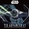 TIE ADVANCED X1 1/72