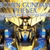 P-Bandai: PG 1/60 Unicorn Gundam 03 Phenex [Gold Plated]