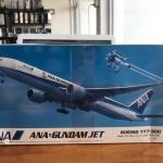 ANAxGundam Jet Boeing 777-300