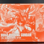 HGBF 1/144 Build Burning Gundam [Full Color Chrome Plated Ver.]