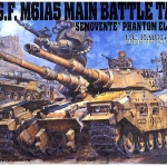 U.C. HARD GRAPH EFGF M61A5 MAIN BATTLE TANK 1/35