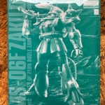 Gundam Bandai MG MS 06F Zaku II Ver.2.0 [Green Zaku]