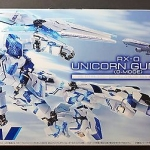 Rx-0 Unicorn Gundam Ana Original Color Limited Very Rare Model