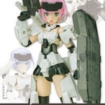 Frame Arms Girl Gourai Monotone Form (Plastic model)