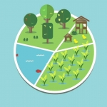 Infographic สุขพอที่พ่อให้ ตอน : เกษตรทฤษฎีใหม่