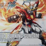 HG Build Burning Gundam Plavsky Particle Clear Ver