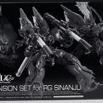 [P-Bandai] RG 1144 Sinanju Expansion Set
