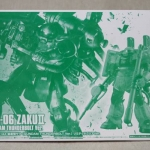 HG 1144 Zaku II MassHG 1144 Zaku II Mass Production Type (Gundam Thunderbolt Ver.) Limited Clear Ver. 「Gundam Thunderbolt」