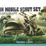 ZEON MOBILE SCOUT SET U.C.HARD GRAPH MOBILE SUIT GUNDAM