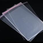 ถุงแก้วฝากาว ขนาด 30x45+5 cm. 100ใบ/แพ็ค