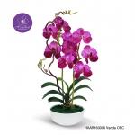 ขอแนะนำของขวัญสำหรับเทศกาลต่างๆที่ใกล้จะมากถึงแล้ว แจกันดอกไม้ประดิษฐ์ แวนด้า Vanda สีออร์คิด ในแจกันเซรามิค จากโรงงานผู้ผลิตโดยตรง