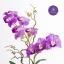 แจกันดอกไม้ประดิษฐ์ เดนโดรเบียม Dendrobium สีม่วง ในแจกันเซรามิค thumbnail 4