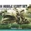 ZEON MOBILE SCOUT SET U.C.HARD GRAPH MOBILE SUIT GUNDAM