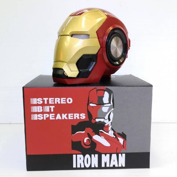 Iron Man Transformers FM Radio USB TF Mp3 Player Wireless Bluetooth Speaker Toys