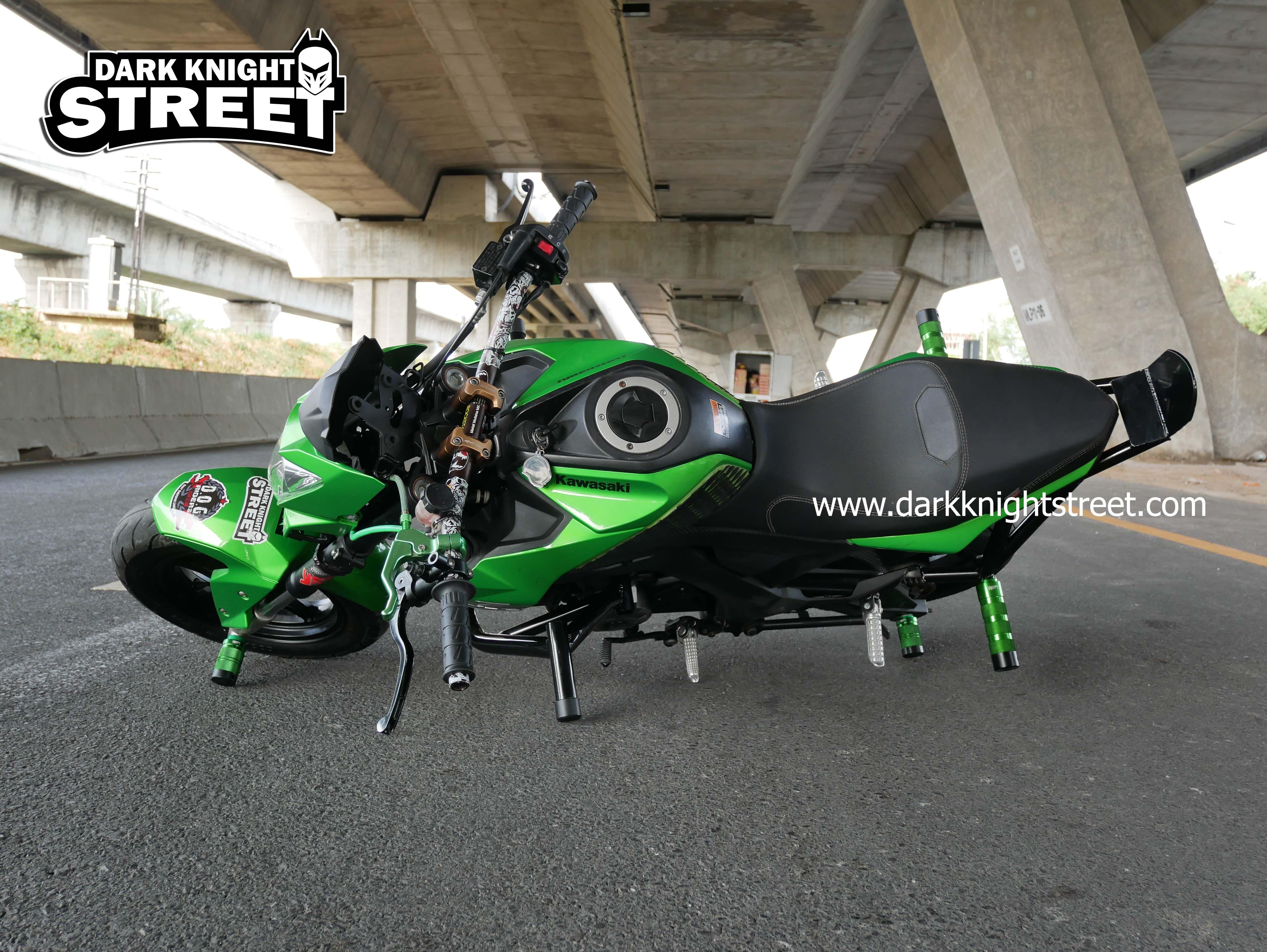 Kawasaki Z125 Crash cage