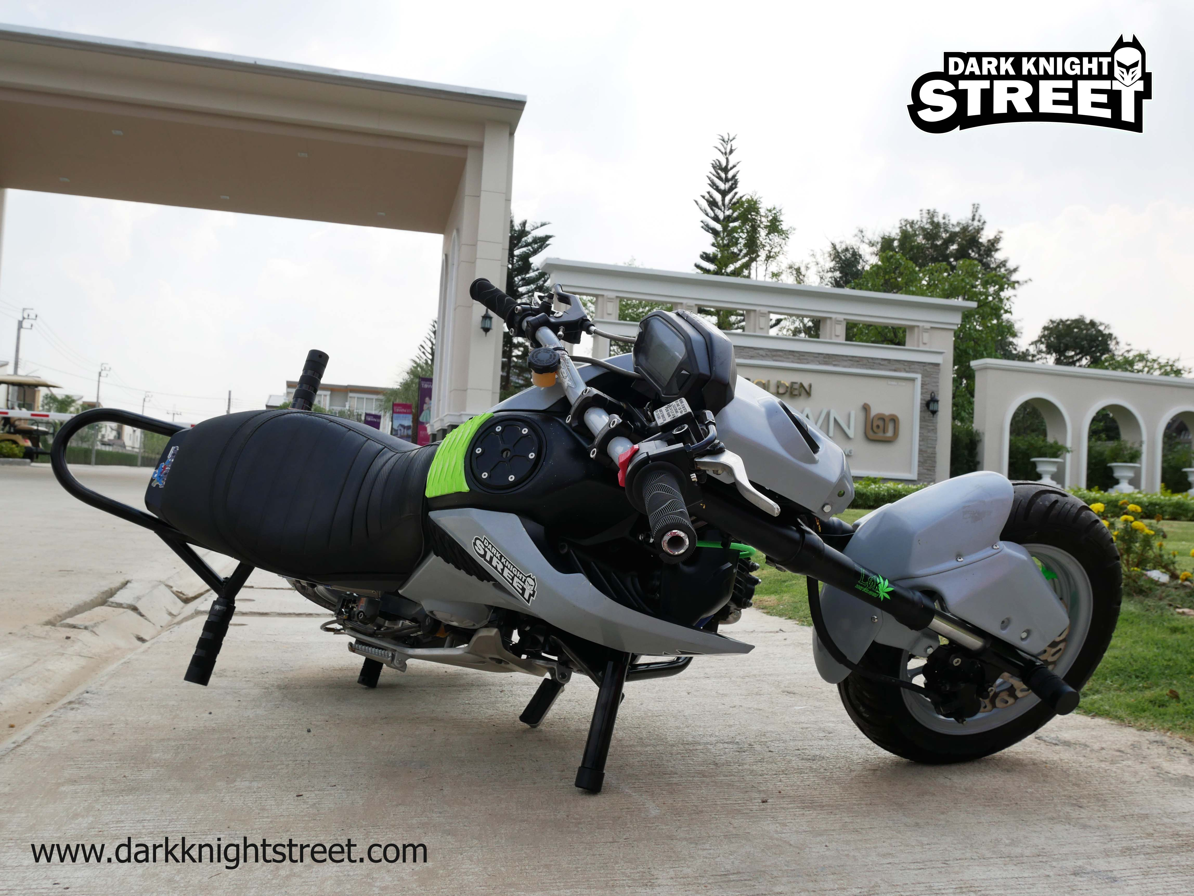 Honda Grom Crash cage