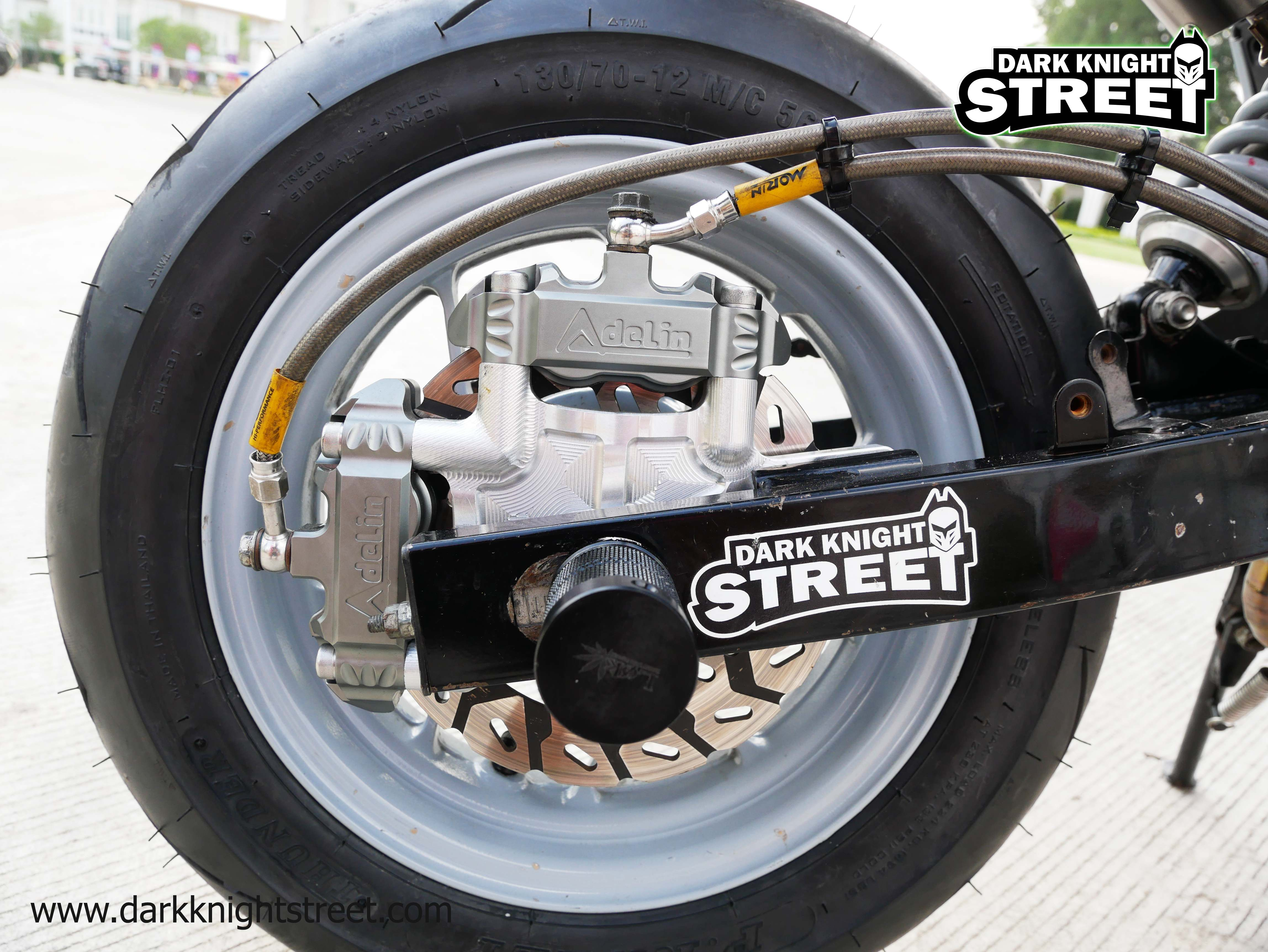 Honda Grom handbrake setup ver 2